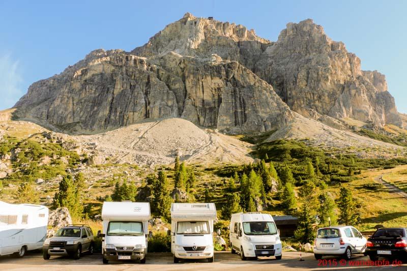 Besuch des Lagazuoi in den Dolomiten